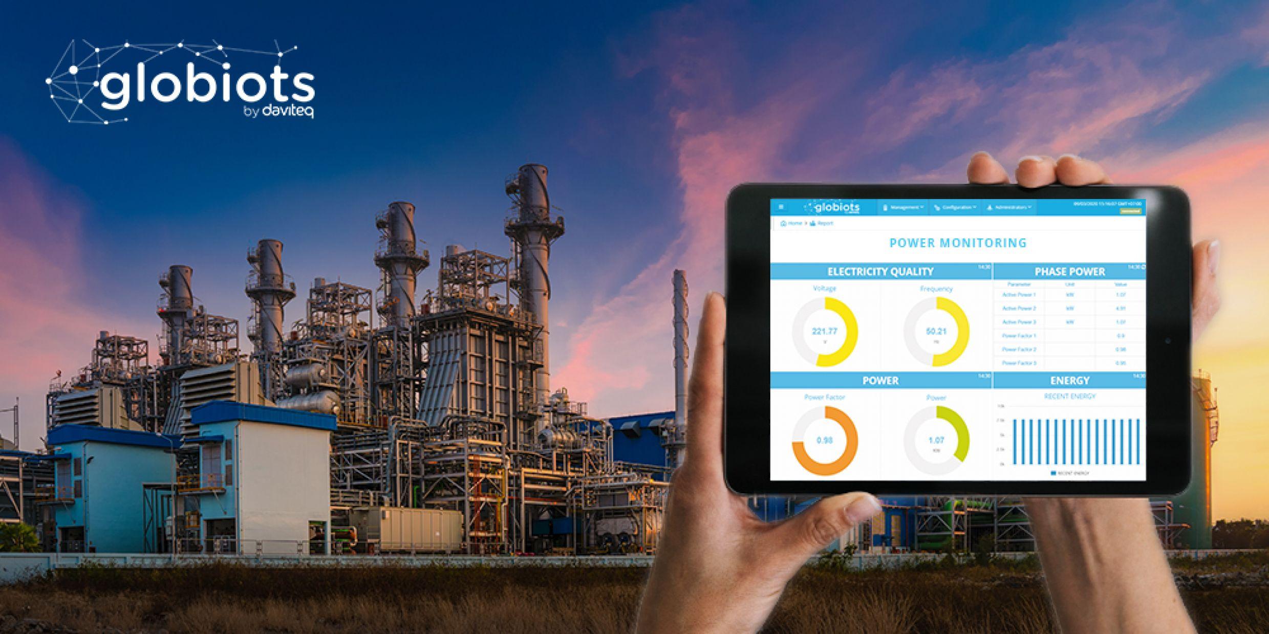 Build ENERGY MANAGEMENT SOLUTION based on IoT Globiots platform