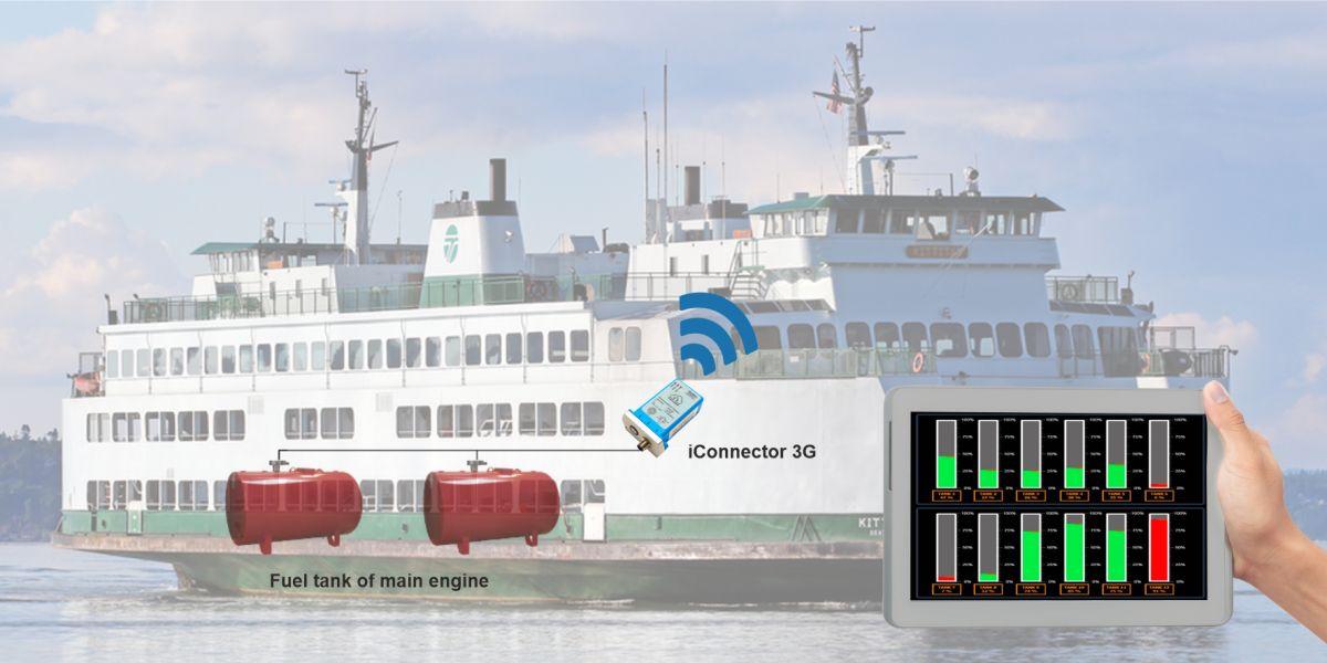 Ứng dụng Globiots xây dựng giải pháp giám sát và điều khiển nhiên liệu phà
