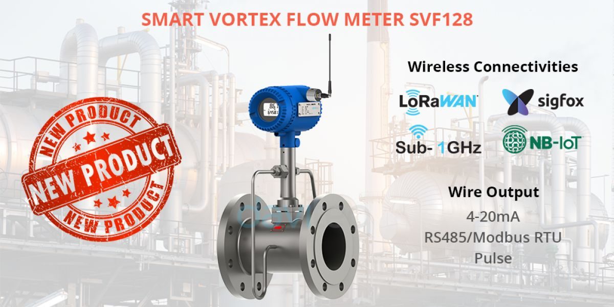 Demo - Daviteq launches Smart Vortex Flow Meter SVF128 series to replace Compaflow