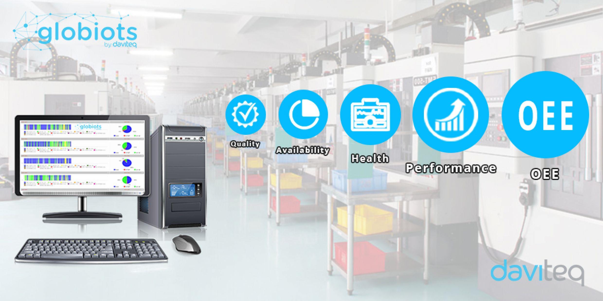 IoT Globiots - Machine tool monitoring solution