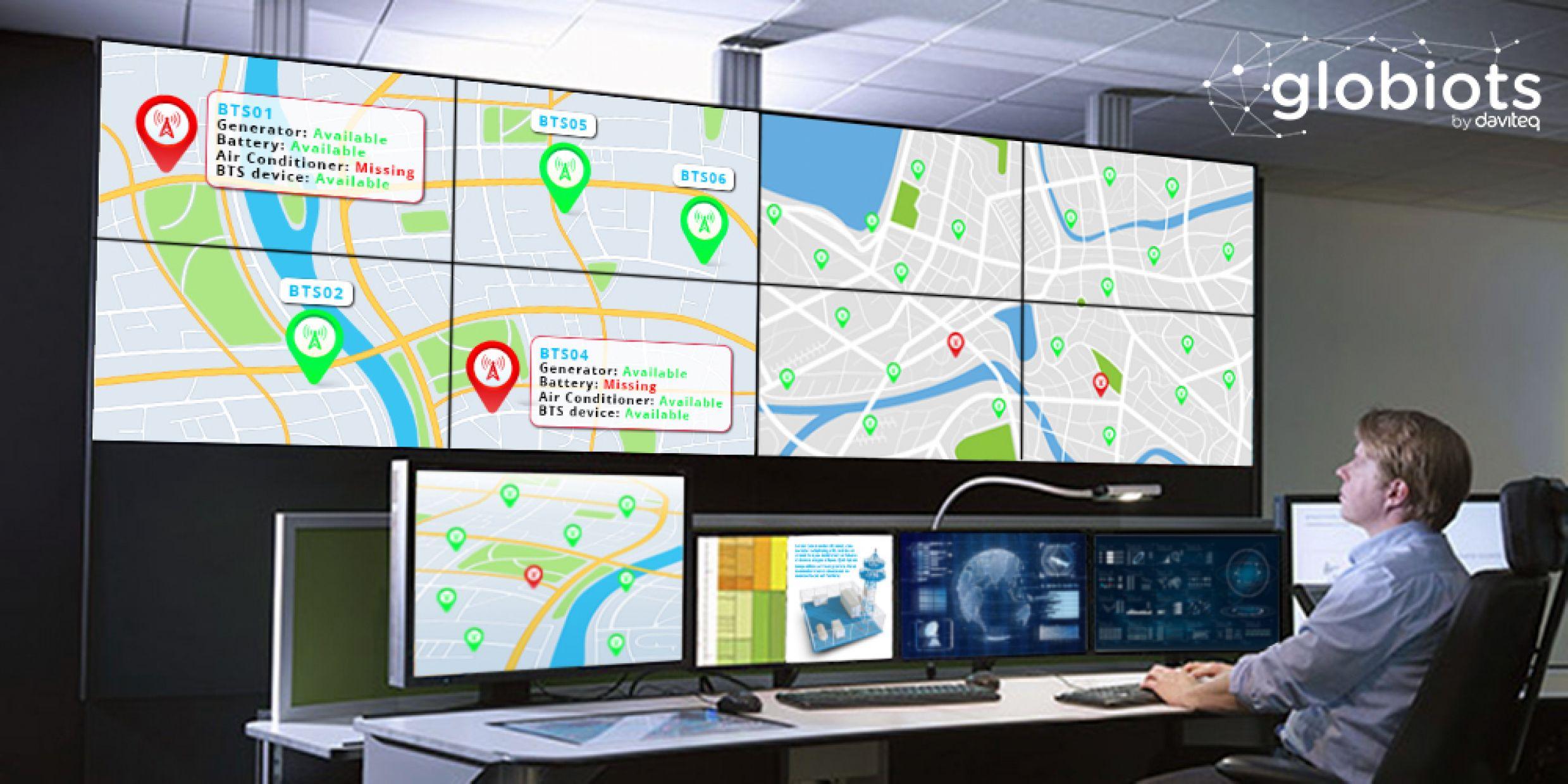 BTS Track - Asset tracking solution for base transceiver station