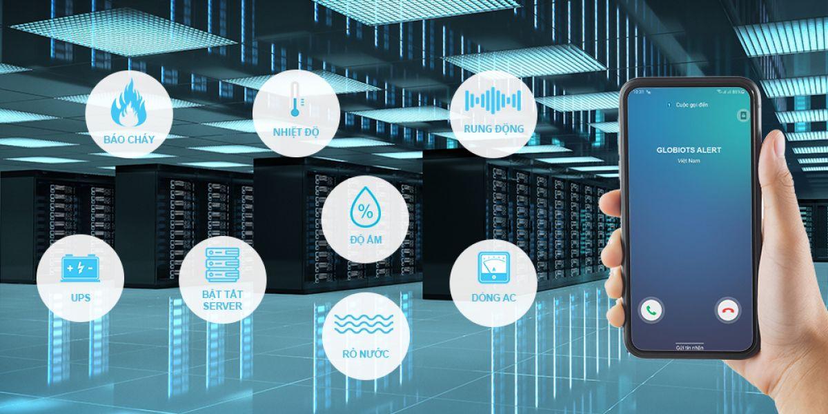 Giải pháp giám sát Trung tâm dữ liệu – Phòng Server